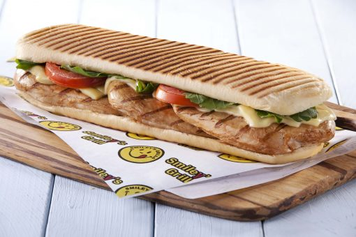 Grilled Chicken Panini 1