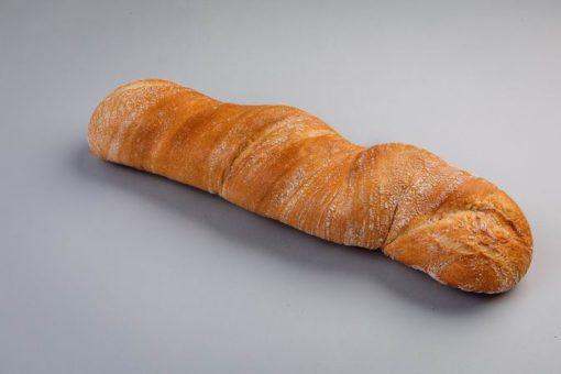 White Ciabatta Bread 22 cm (2 Pieces) 1